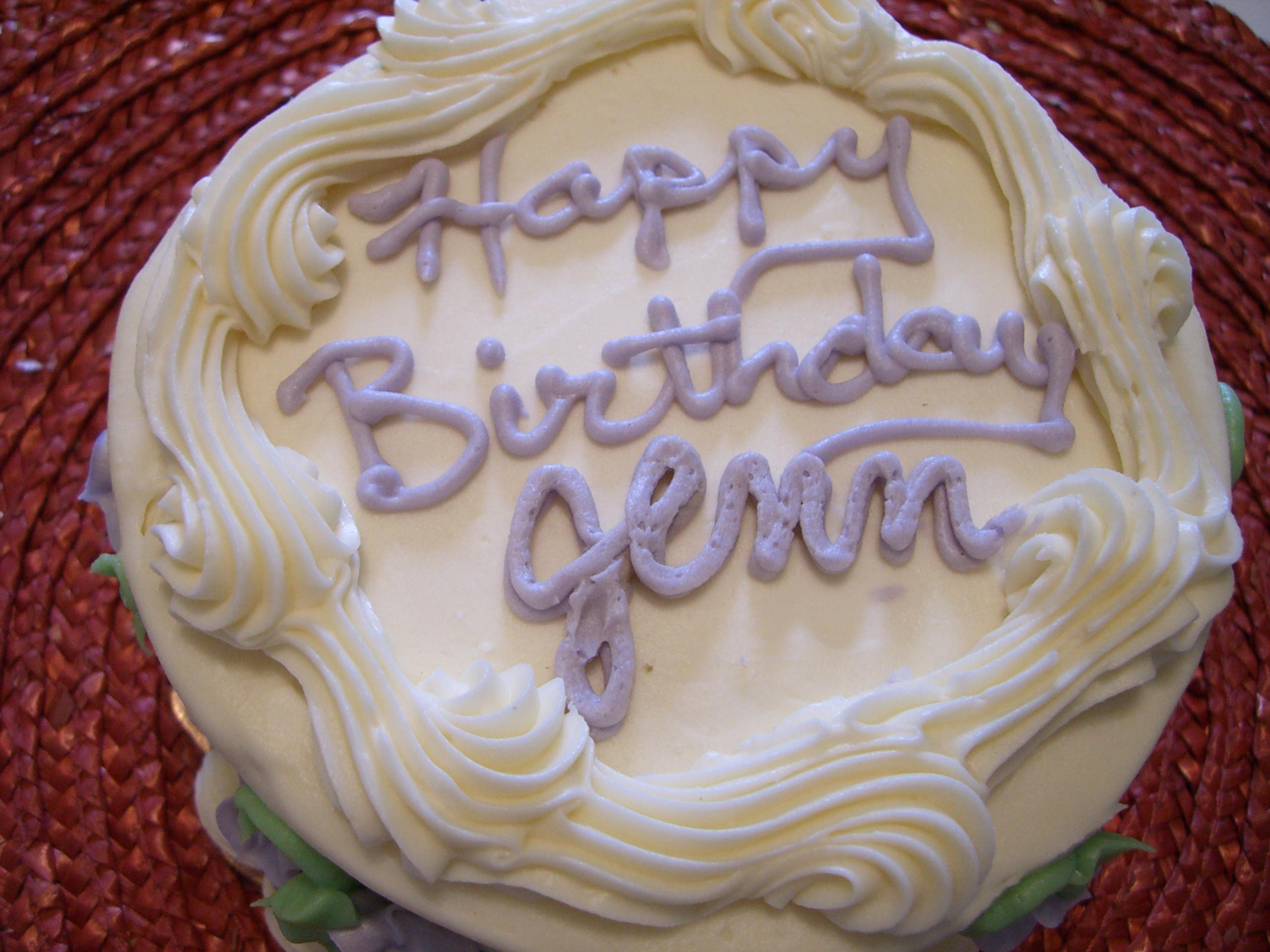 Birthday cakes eating bender