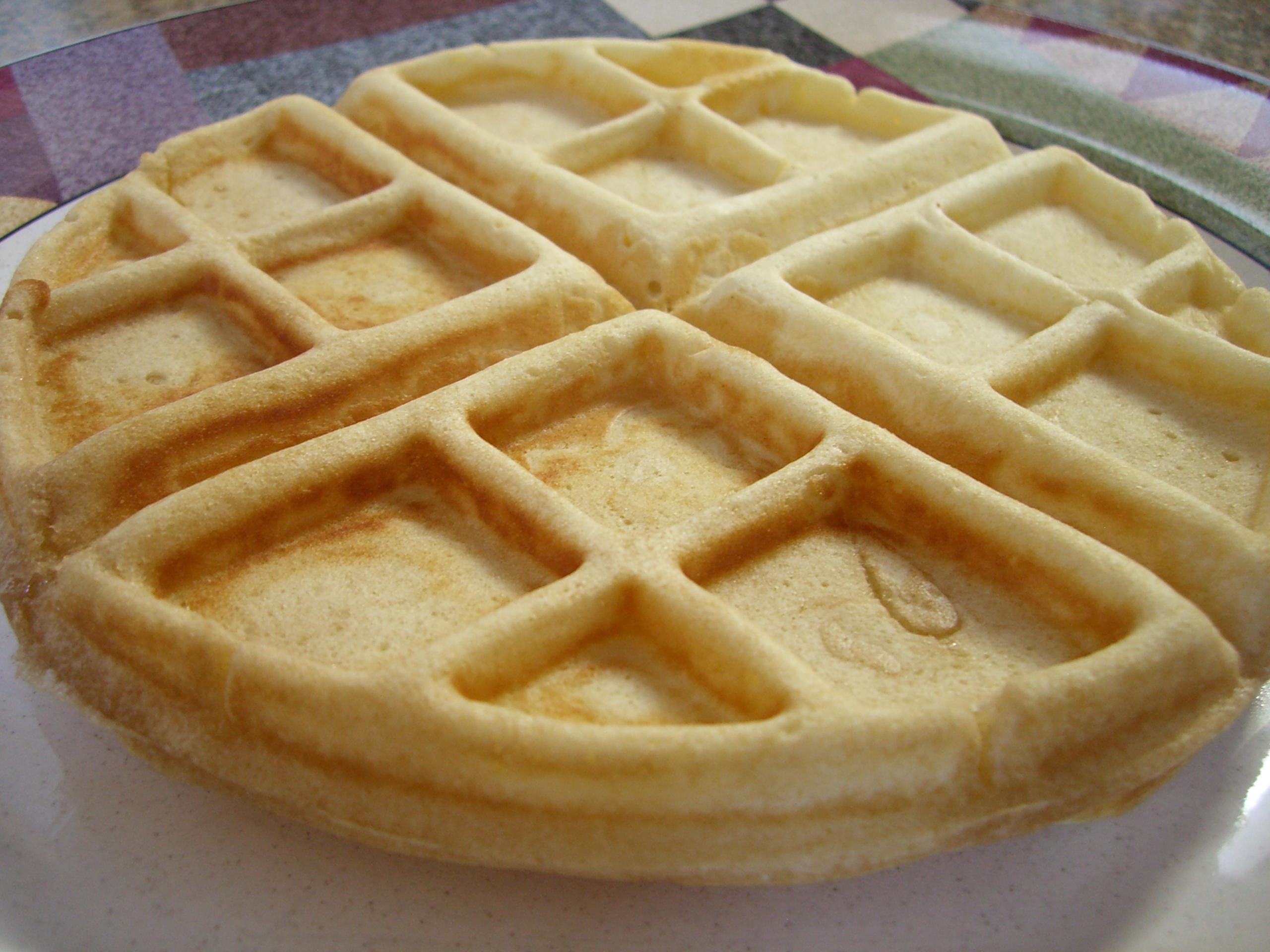 Light 'n' Crisp Belgian Waffles — eating bender